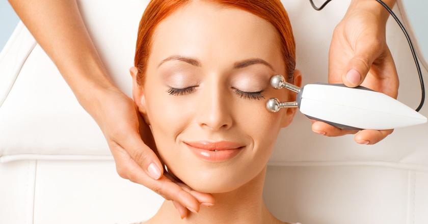 Микротоковая терапия микротоки лица