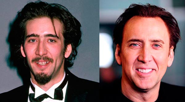 Николас Кейдж (Nicolas Cage) до и после