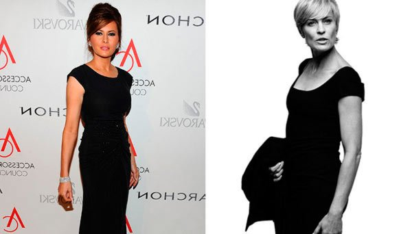 Робин Райт (Robin Wright) Клэр Андервуд (Claire Underwood) Мелания Трамп (Melania Trump)