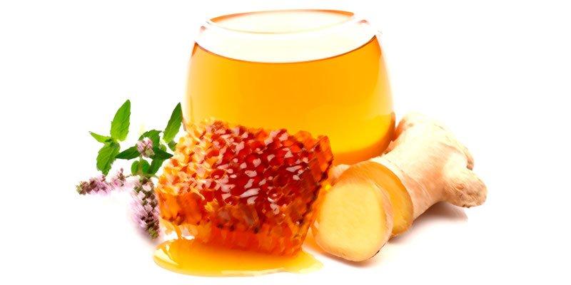 мёд с имбирём