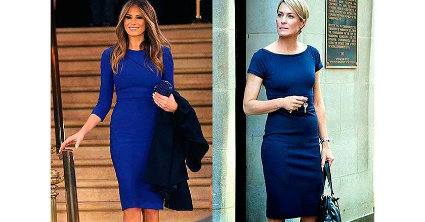 Мелания Трамп подражает образу героини «Карточного домика»