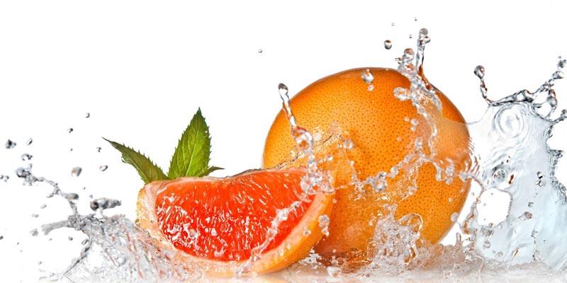фото грейпфрута в воде