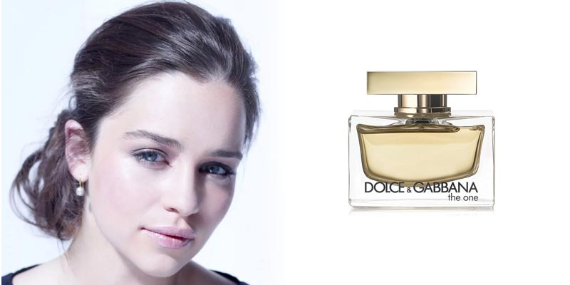 Эмилия Кларк представит Dolce & Gabbana The One