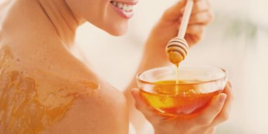 фото мёда для массажа