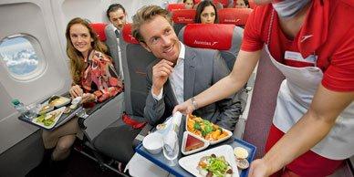 что поесть в самолете