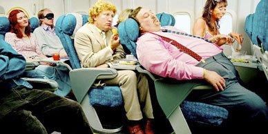 Как правильно вести себя в самолете