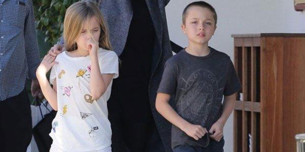 дети Джоли и Питта: Вивьен и Нокс