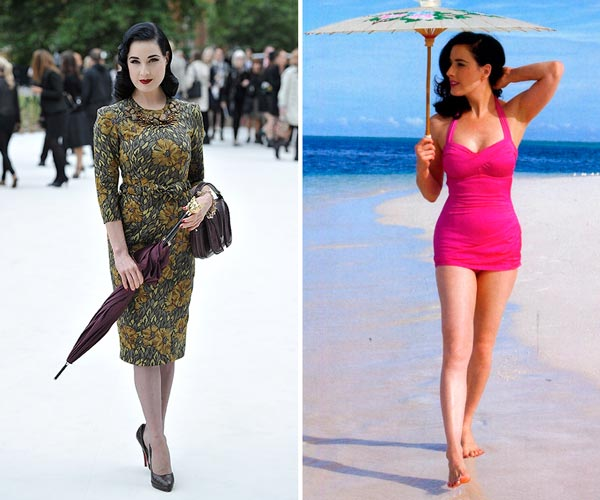 DITA VON TEESE антифанат солнца