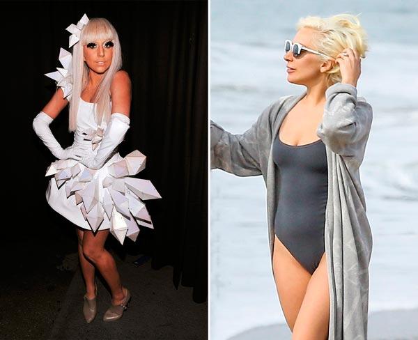 Lady Gaga любит позагорать, но остаётся белой