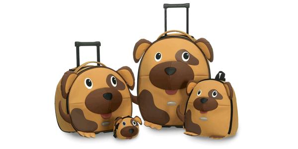 смешные чемоданчики собачки