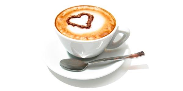 картинка кофе с сердечком