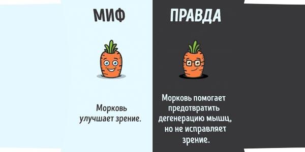 миф и правда о моркови