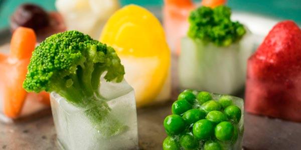 фото замороженных брокколи и горошка