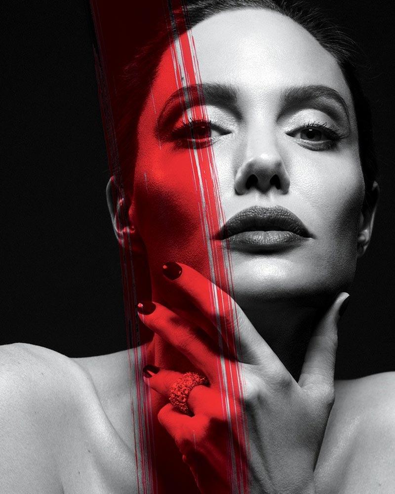 Анджелина Джоли фотосессия