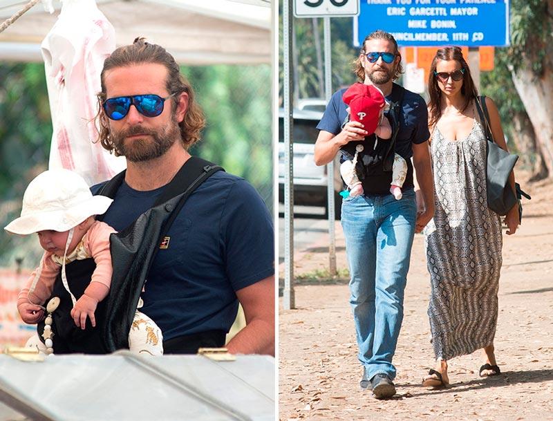 Купер и Шейк с дочкой идут на базар