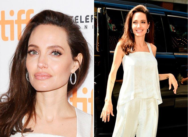 Джоли на кинофестивале в Торонто