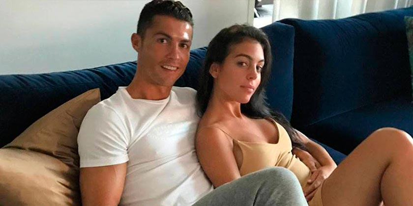 Cristiano Ronaldo with Girlfriend
