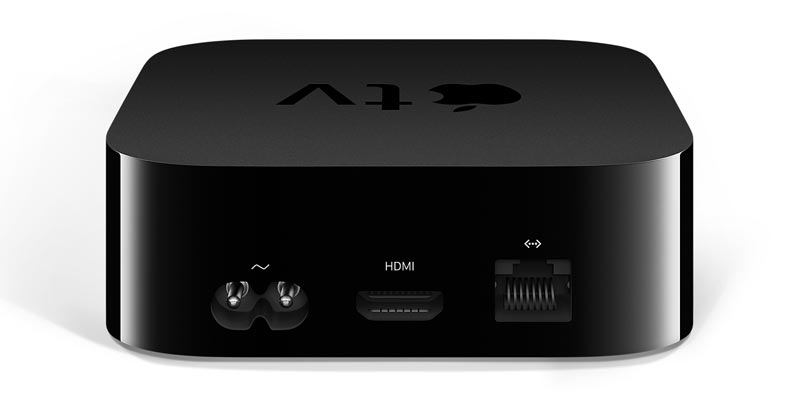 Apple TV 4K back