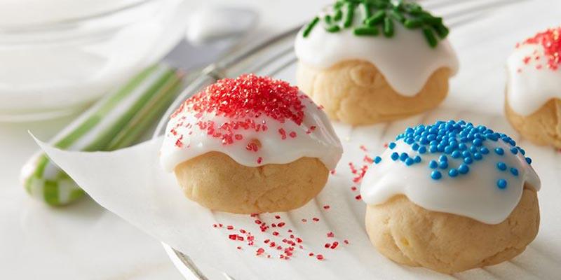 Итальянское рождественское печенье