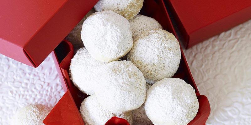 Рецепт новогоднего печенья «Снежки»
