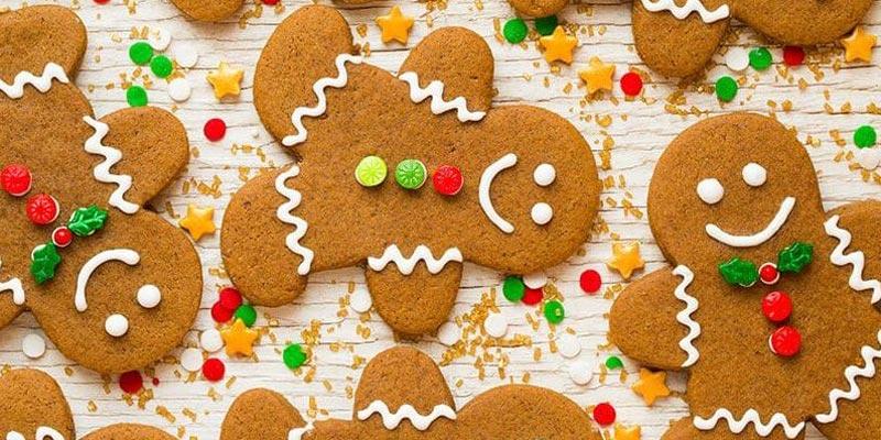 Рецепт новогоднего имбирного печенья «Имбирные человечки»