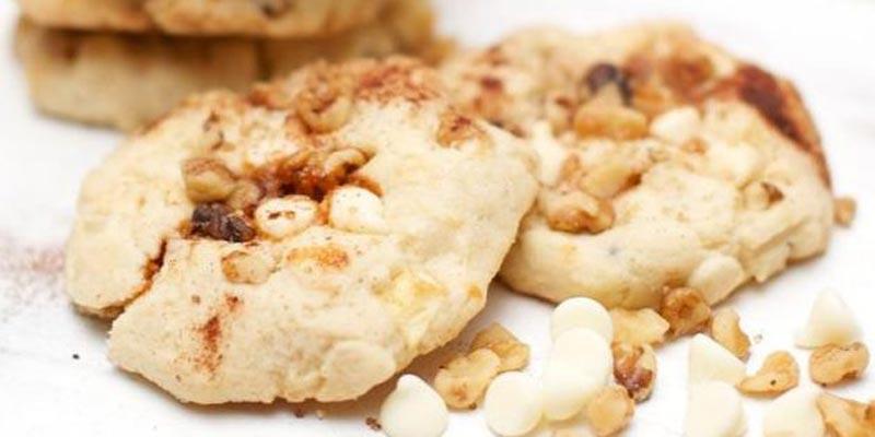 Яблочно-карамельные печеньки