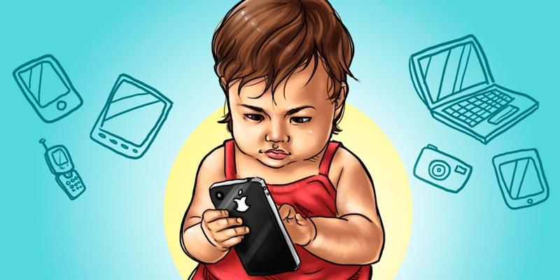 воздействию радиоволн отсмартфонов подвержены в большей степени дети
