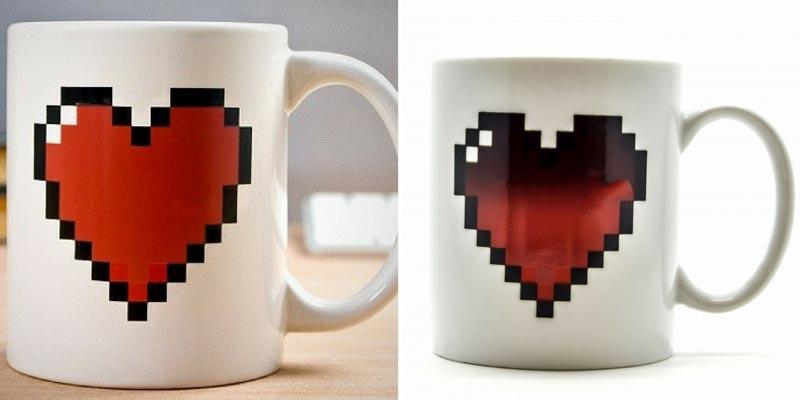 Чашка с сердцем