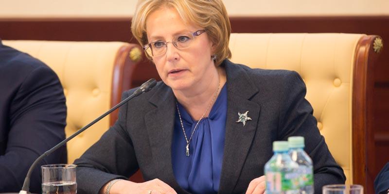 Глава министерства здравоохранения Российской Федерации Скворцова В