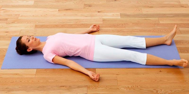 Завершающая релаксация йоги