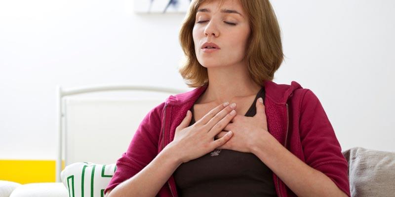 правильное дыхание от стресса