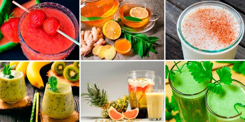 Рецепты вкусных и полезных домашних коктейлей для похудения