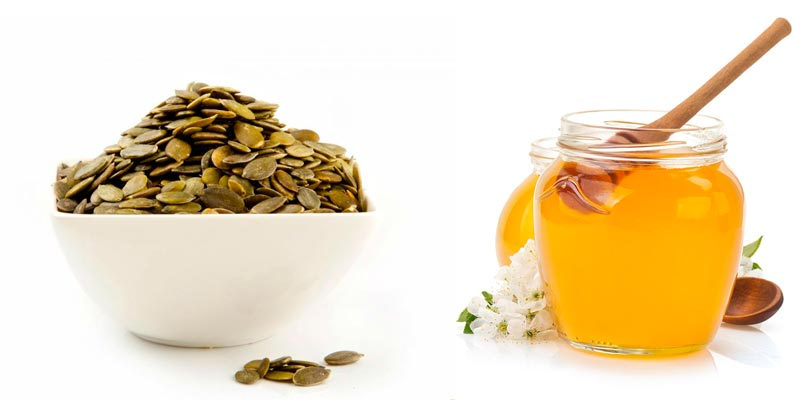 Польза тыквенных семечек с мёдом для мужчин
