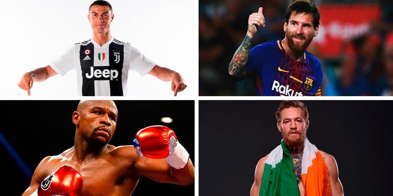 Рейтинг самых богатых спортсменов в мире 2018