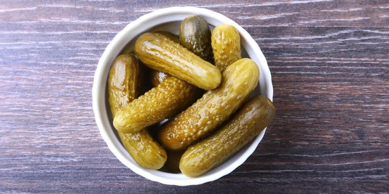 Рецепт засоленных огурцов на зиму с добавлением сухой горчицы