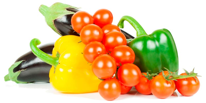 Лечо с баклажанами, перцем и помидорами