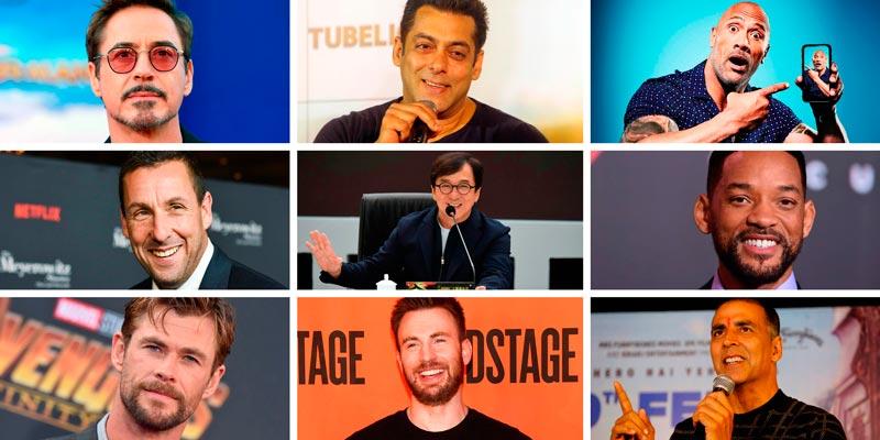 Самые высокооплачиваемые актёры мира — 2018