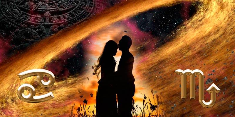 Женщина рак и мужчина скорпион: совместимость в любви