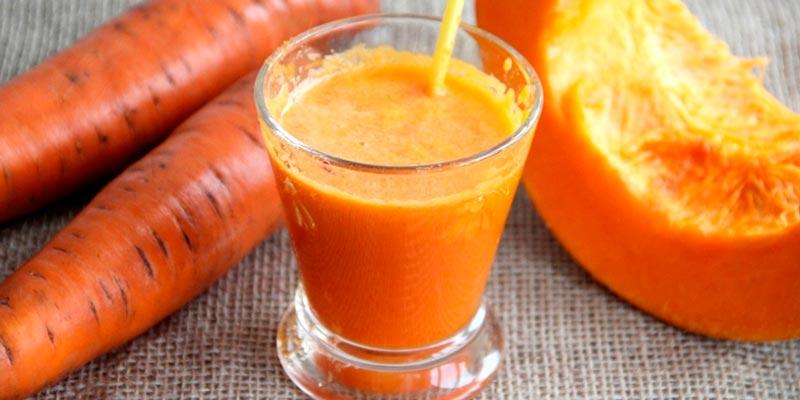 Рецепт сока из тыквы с морковью на зиму
