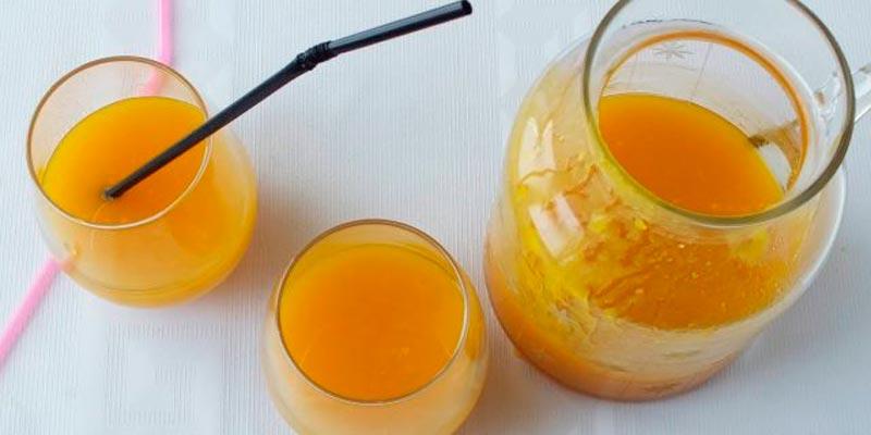 Рецепт тыквенного сока с мякотью без использования соковыжималки