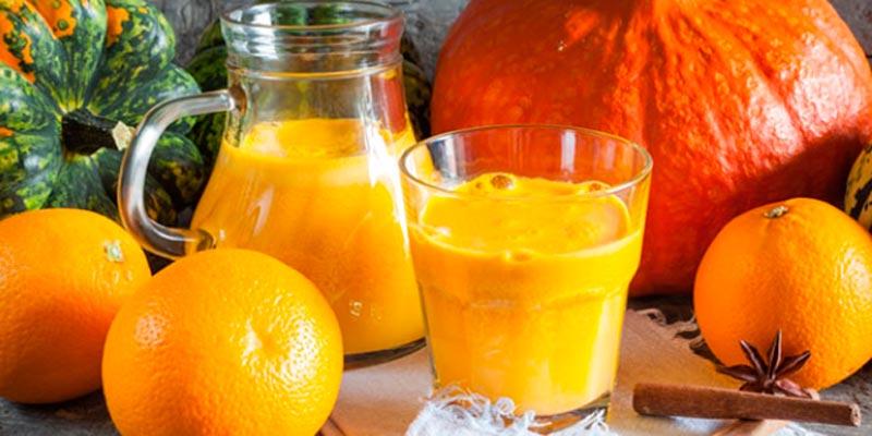 Рецепт тыквенного сока с апельсином на зиму