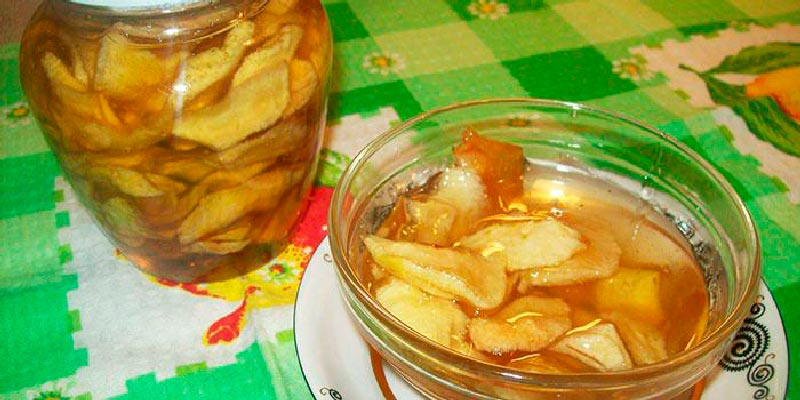 Рецепт прозрачного варенья из яблок дольками: просто и вкусно