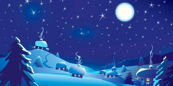 Пожелания доброго зимнего вечера