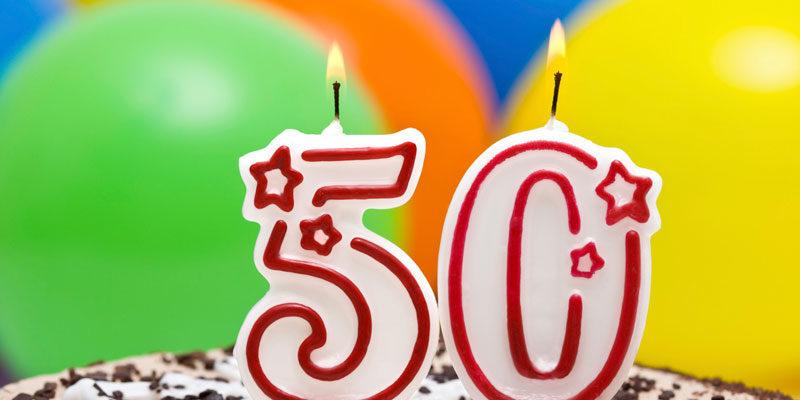 Открытки с юбилеем 50 лет женщине