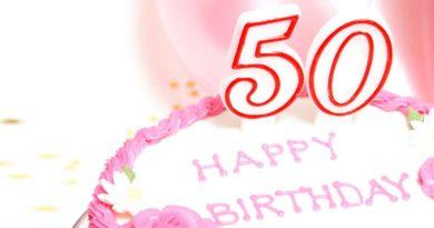 Поздравления с юбилеем 50 лет женщине в прозе