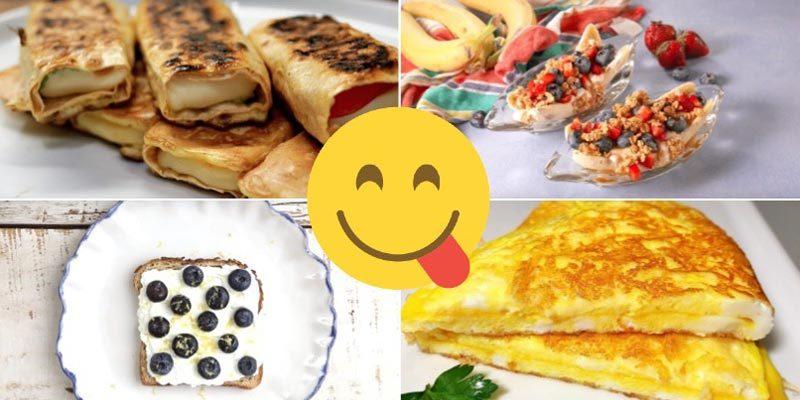 Рецепты быстрых и вкусных завтраков