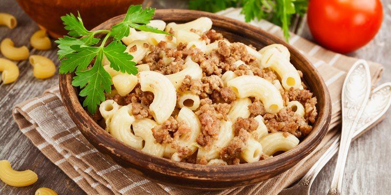 Лучший пошаговый рецепт макарон по-флотски с фаршем
