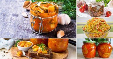 Салат из кабачков на зиму: пять вкусных рецептов