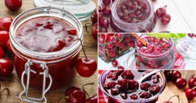 Варенье из вишни: 4 вкусных рецепта