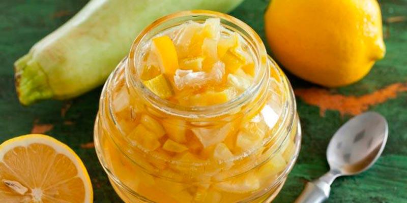 Рецепт самого вкусного варенья из кабачков с лимоном